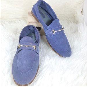 Topshop Blue Karpenter Loafer Size 6.5/37